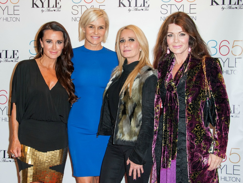 kim richards getty images