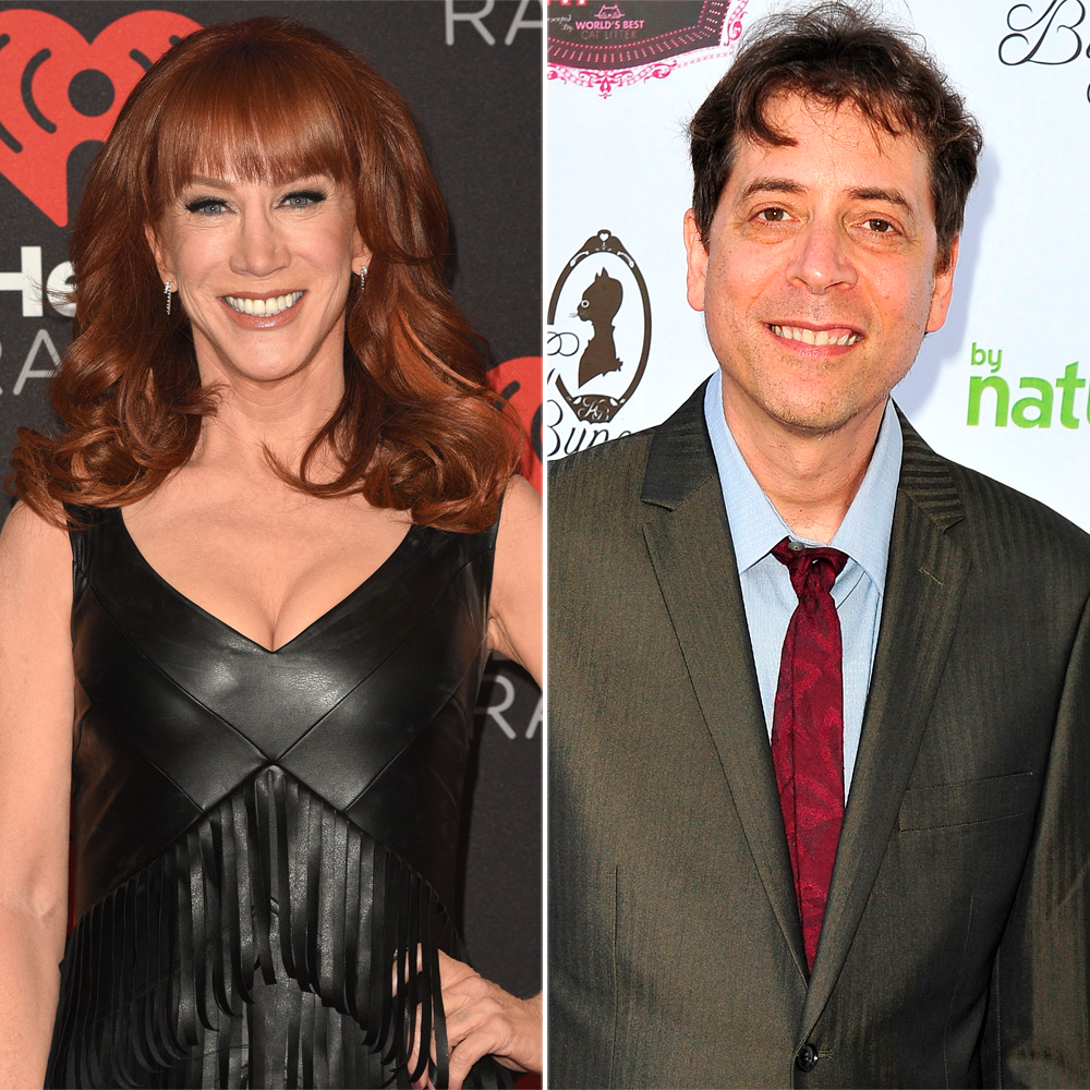 Comedian Fred Stoller said Kathy Griffin likes to hit guys in the face  after sex.