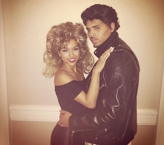 9cf54a5d1e774 Gigi Hadid, Chris Brown, and More Celebrities Who've Worn 'Grease ...