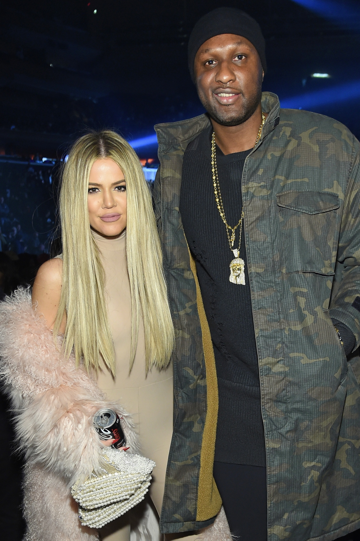 khloe and lamar in february 2016 getty