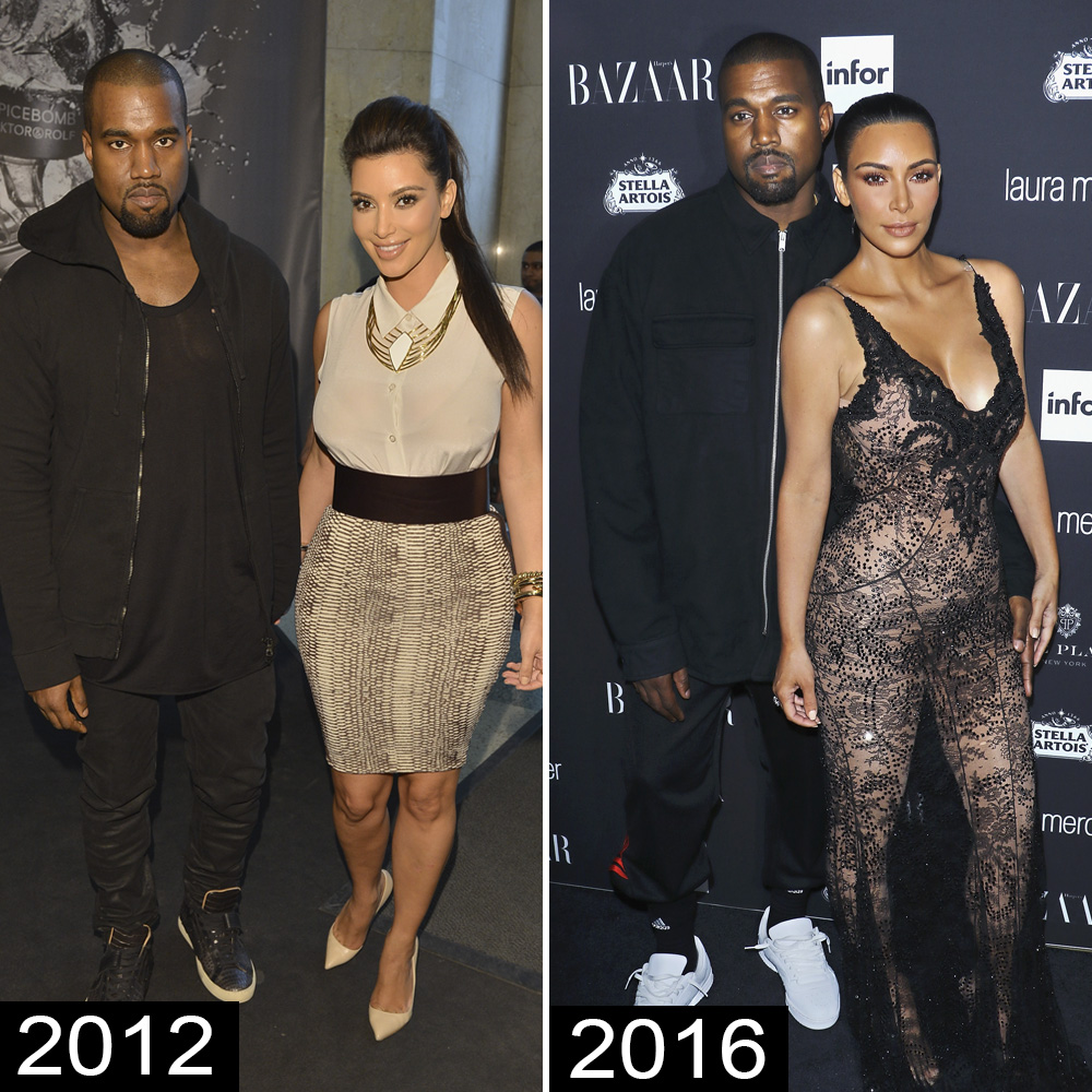 12 Then And Now Photos Of Celebrity Couples On Their First Red
