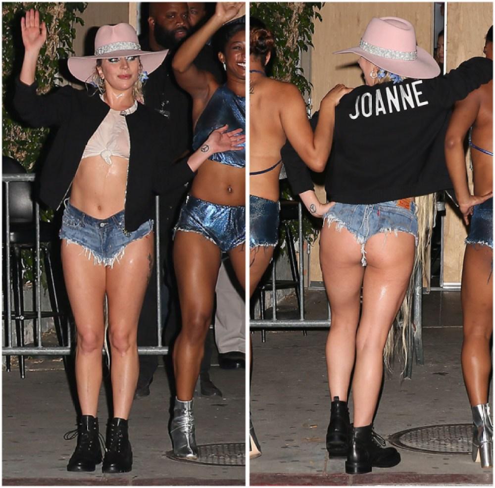 Lady Gaga Butt