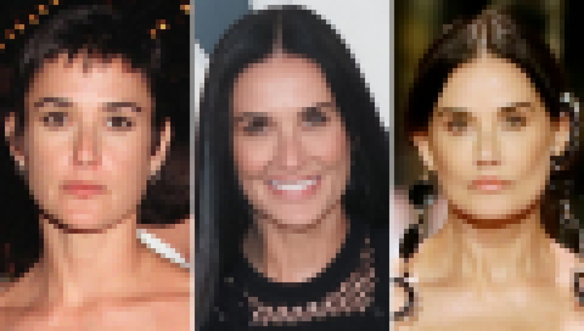 A Timeless Beauty! Demi Moore's Transformation Over the Years