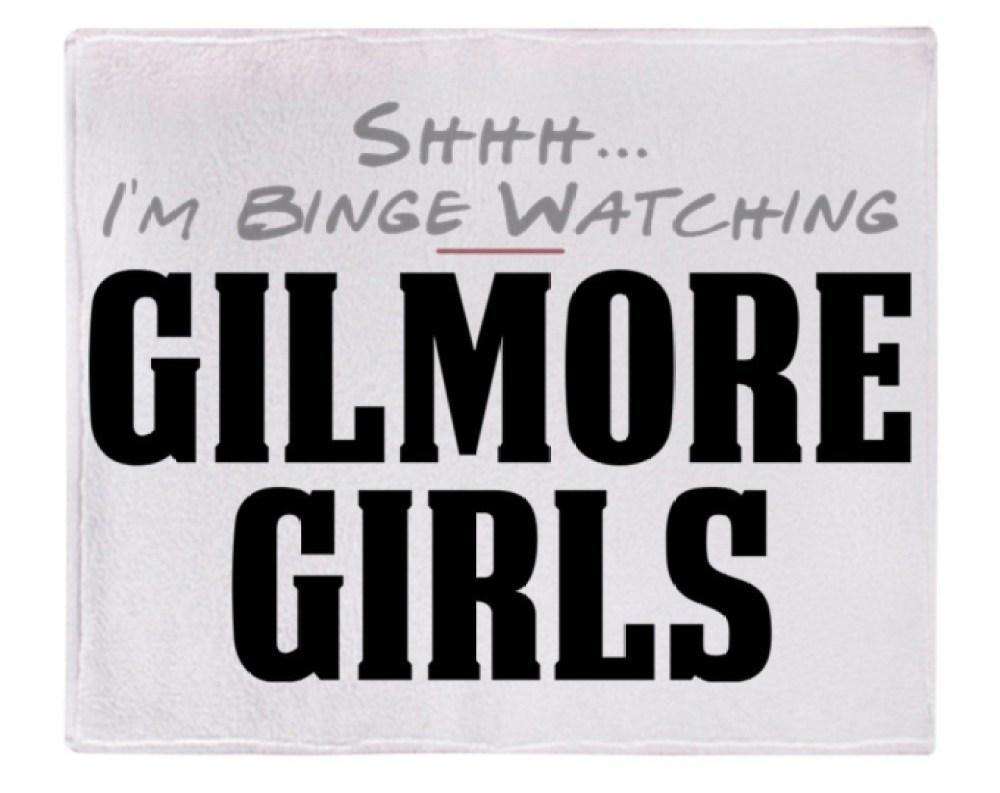gilmore girls blanket