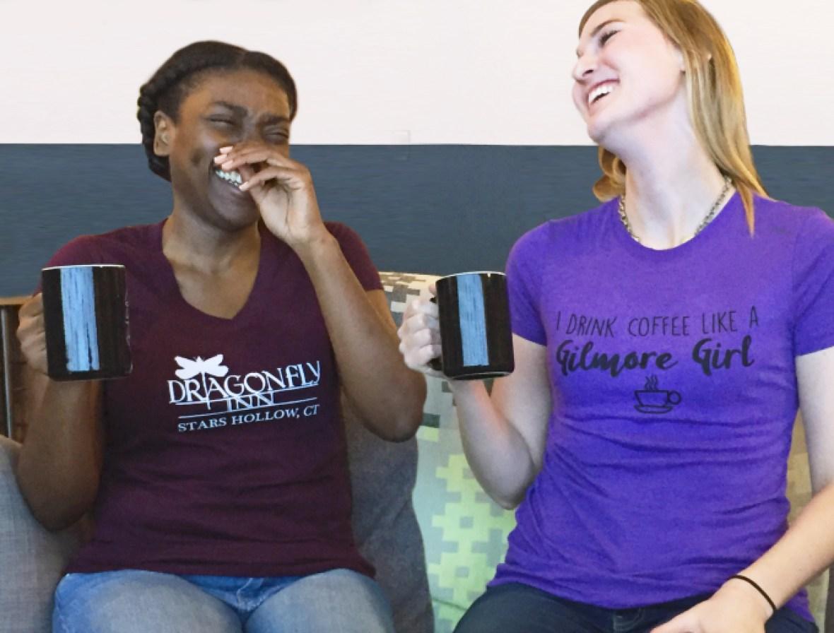 gilmore girls tshirts
