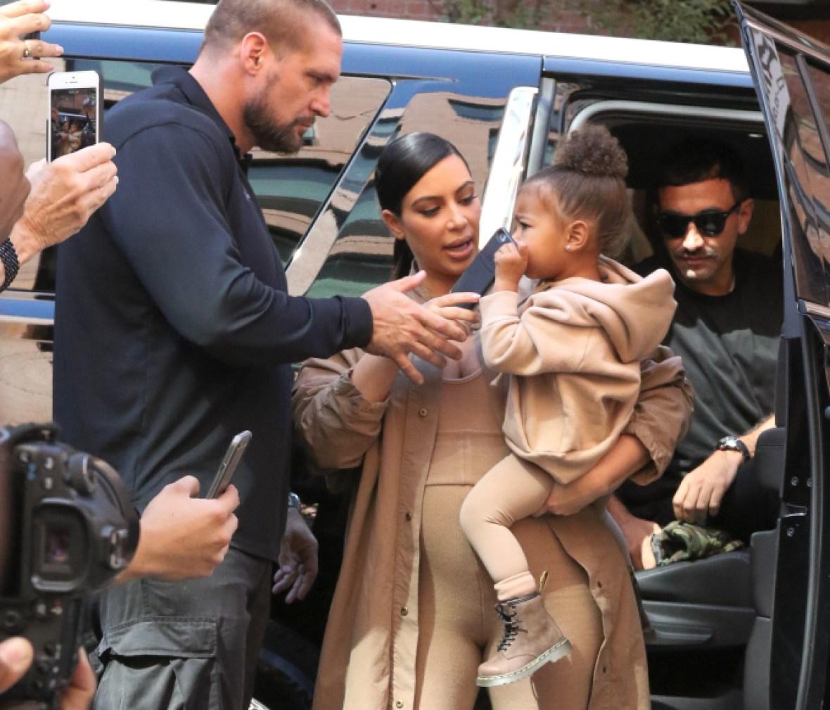 kim kardashian bodyguard getty images