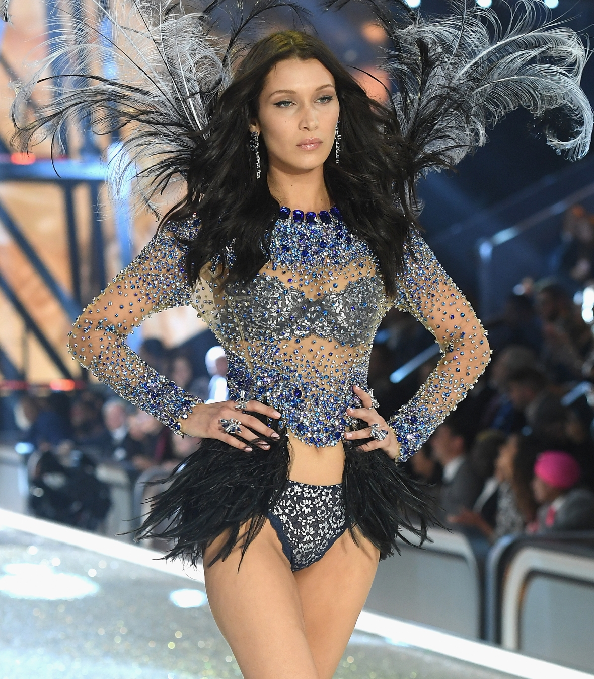 bella hadid victoria's secret 2016 getty