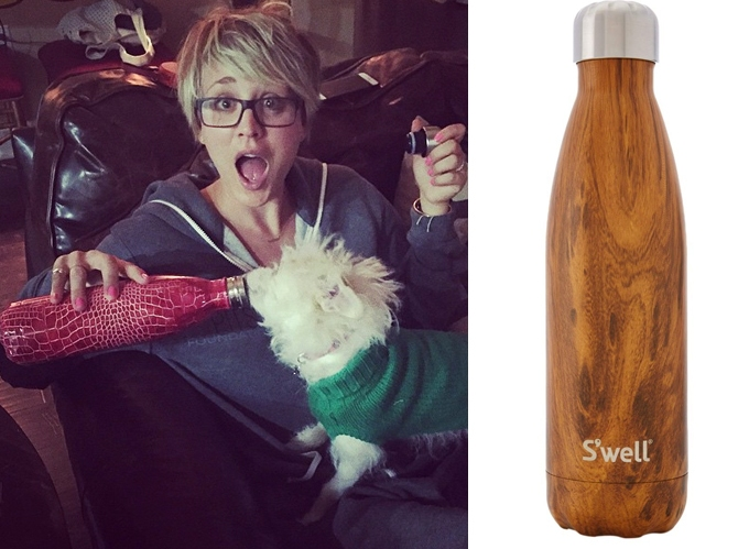 kaley cuoco swell bottle