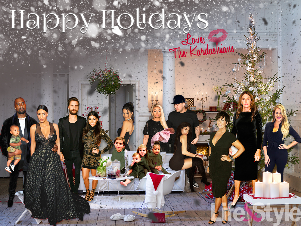See the Kardashians\' 2016 Christmas Card