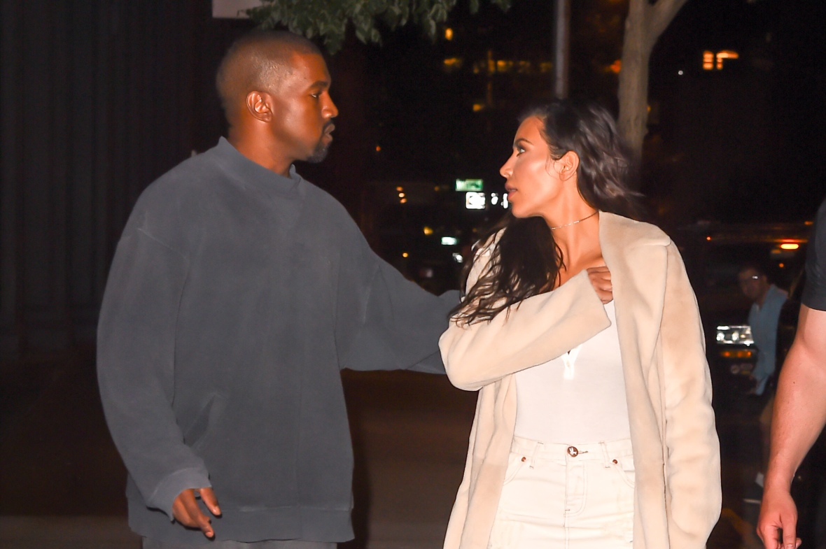 kim kardashian kanye west getty images