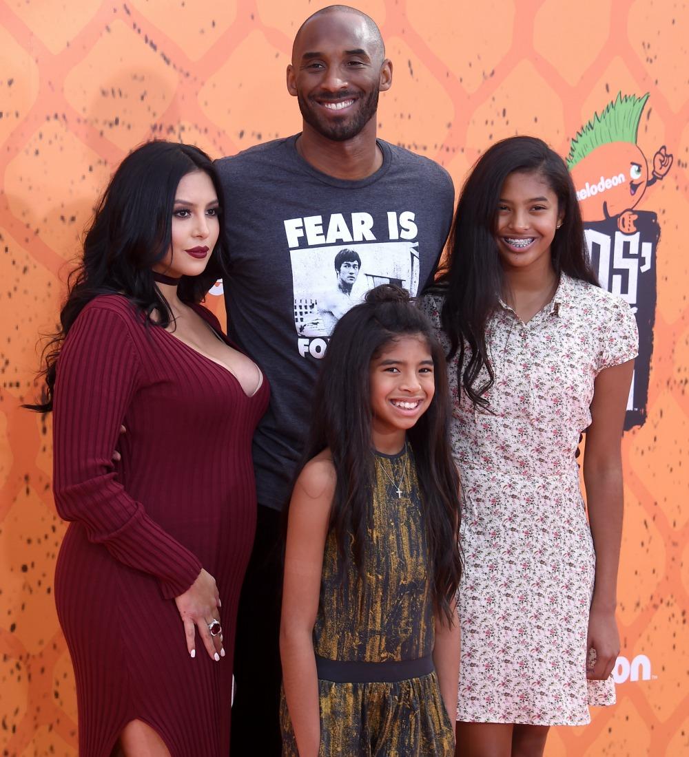Kobe Bryant's Newborn Daughter Bianka Makes Her Adorable ...