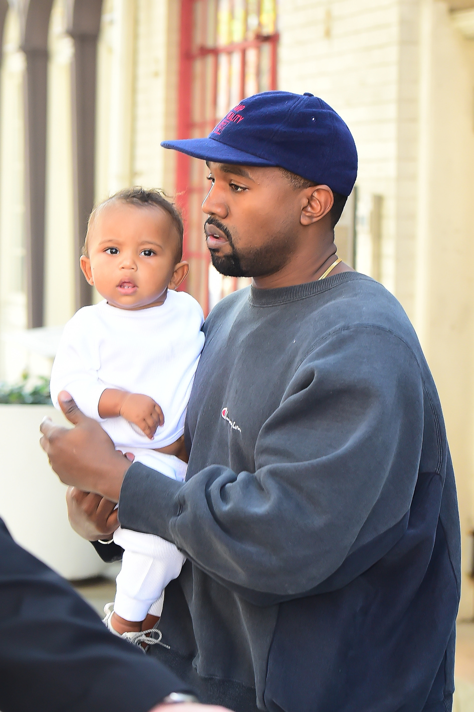 Saint West, Kanye West