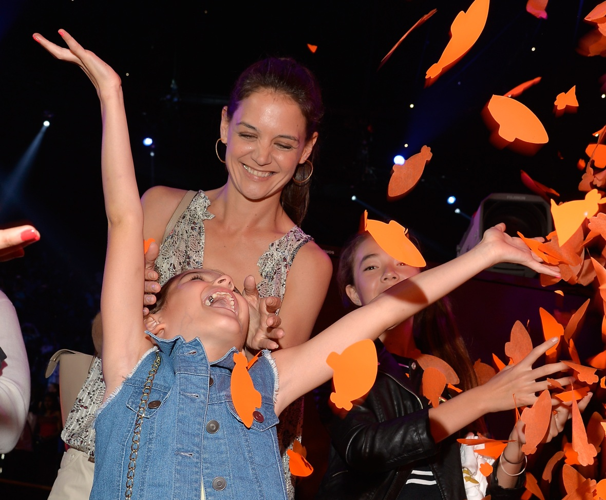 suri cruise katie holmes getty images