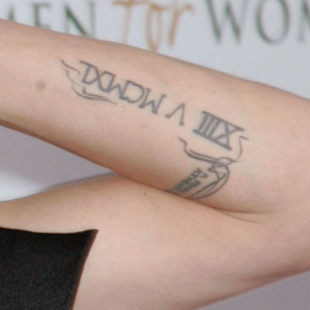 Angelina Jolie's Tattoos: Did You Know She Has One for Brad Pitt?
