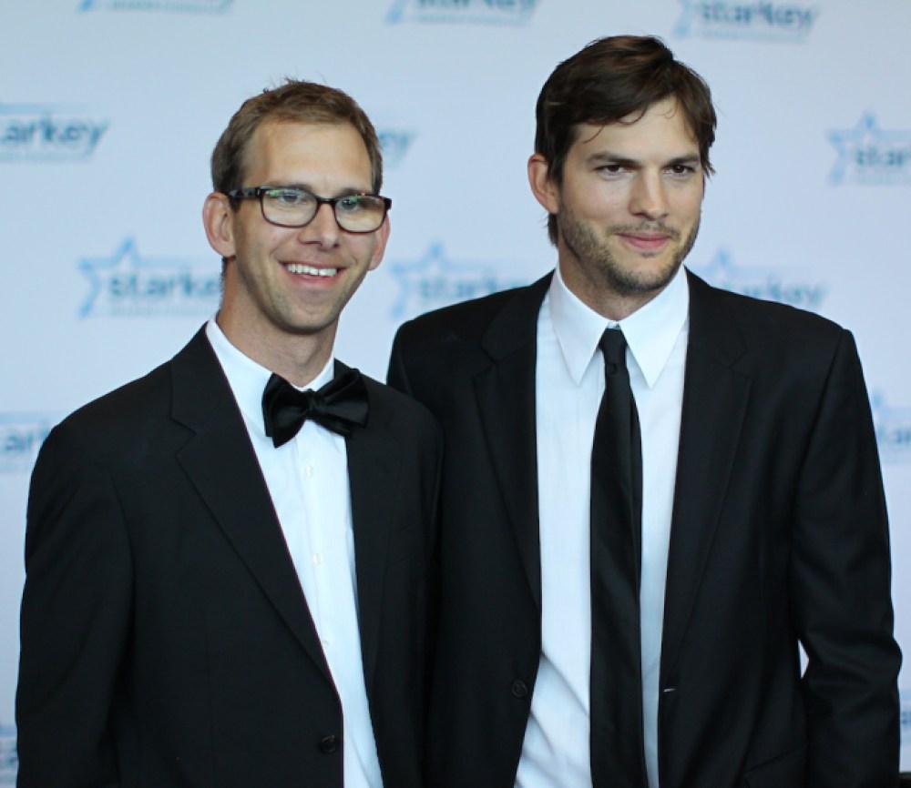 ashton kutcher michael kutcher getty images