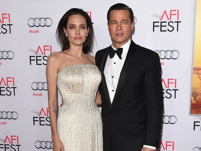 brad pitt and angelina jolie getty images
