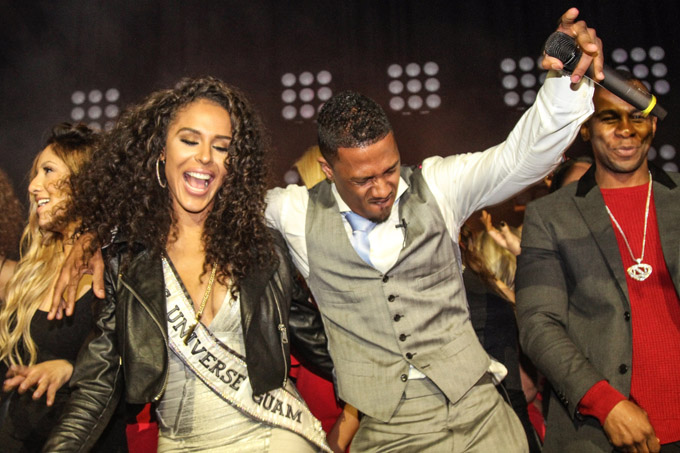 brittany bell nick cannon getty images
