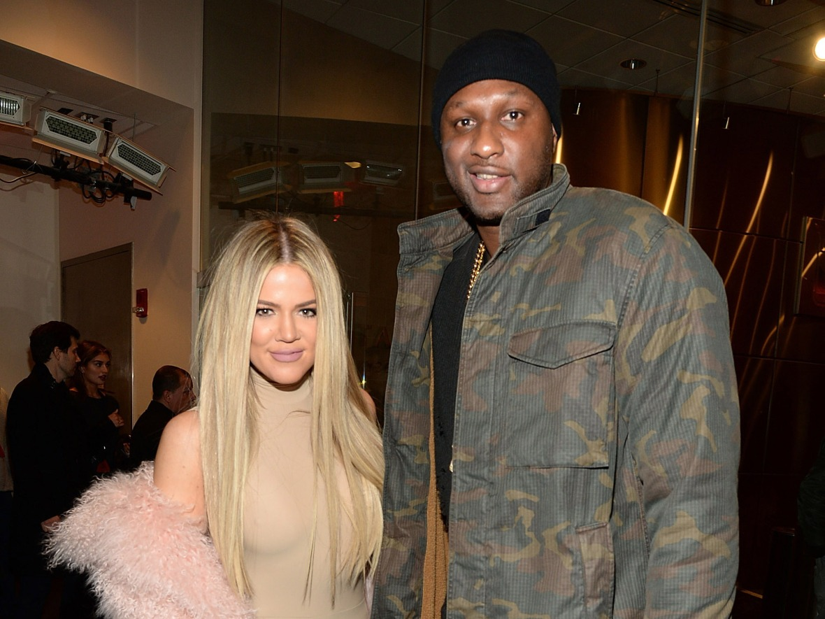 khloe kardashian and lamar odom (getty images)