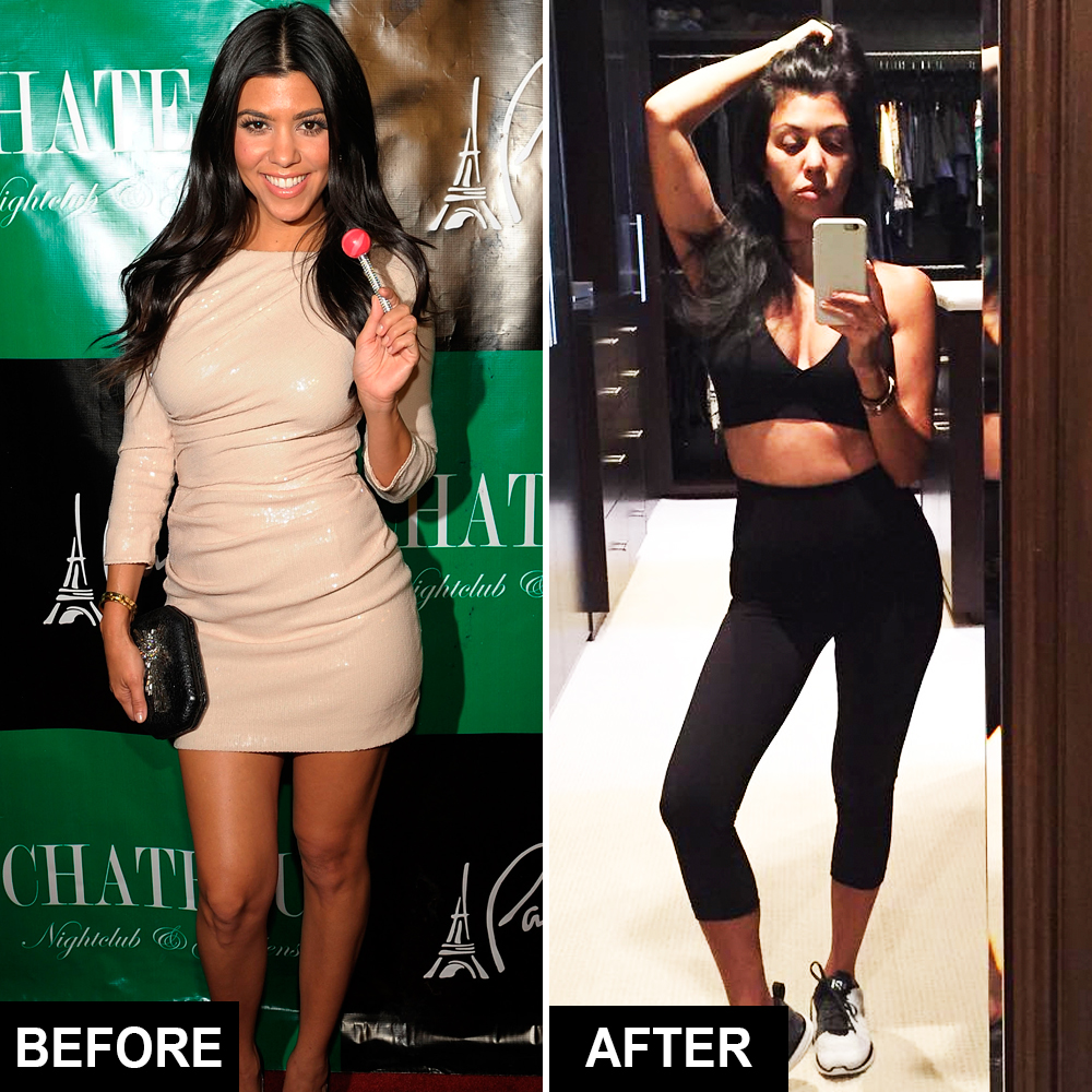 3d50a60977c38 Celebrity Waist Trainers in Action — See Before-and-After Pics
