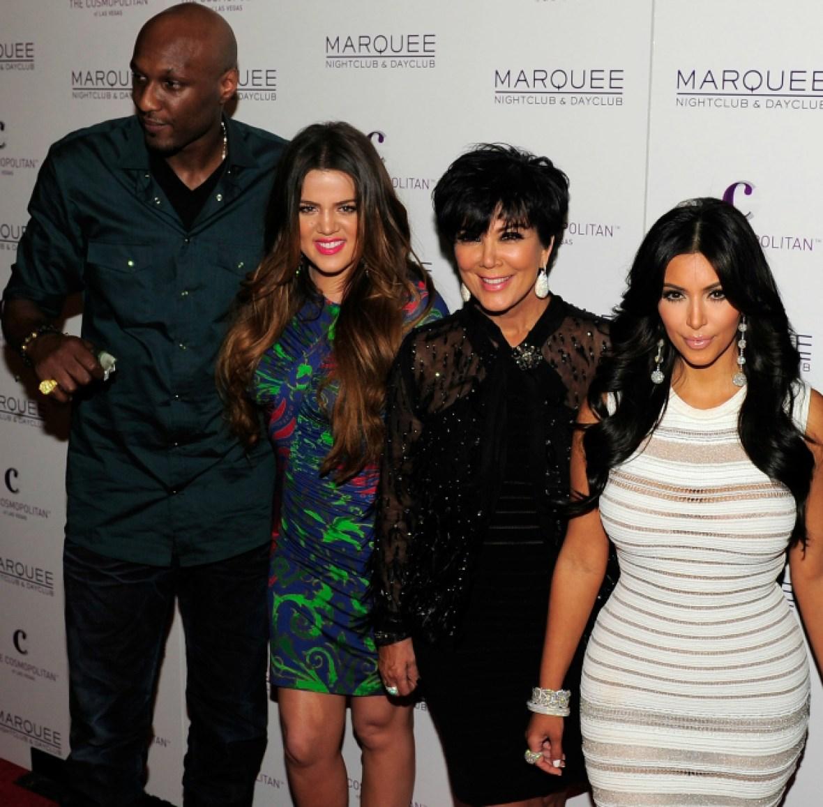 kris jenner kim kardashian khloe kardashian lamar odom