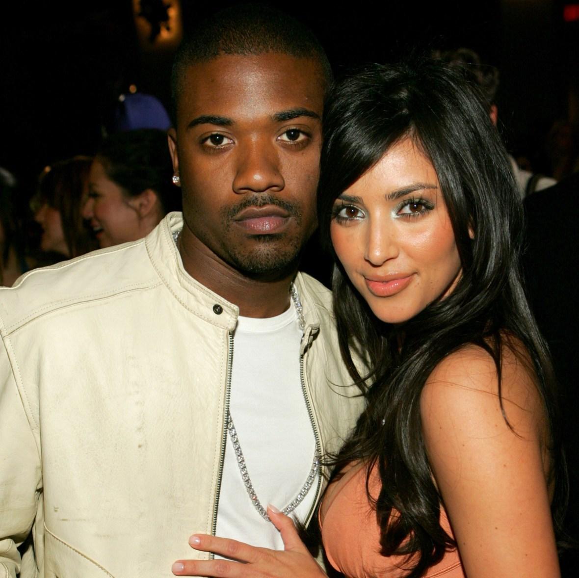 ray j kim kardashian getty images