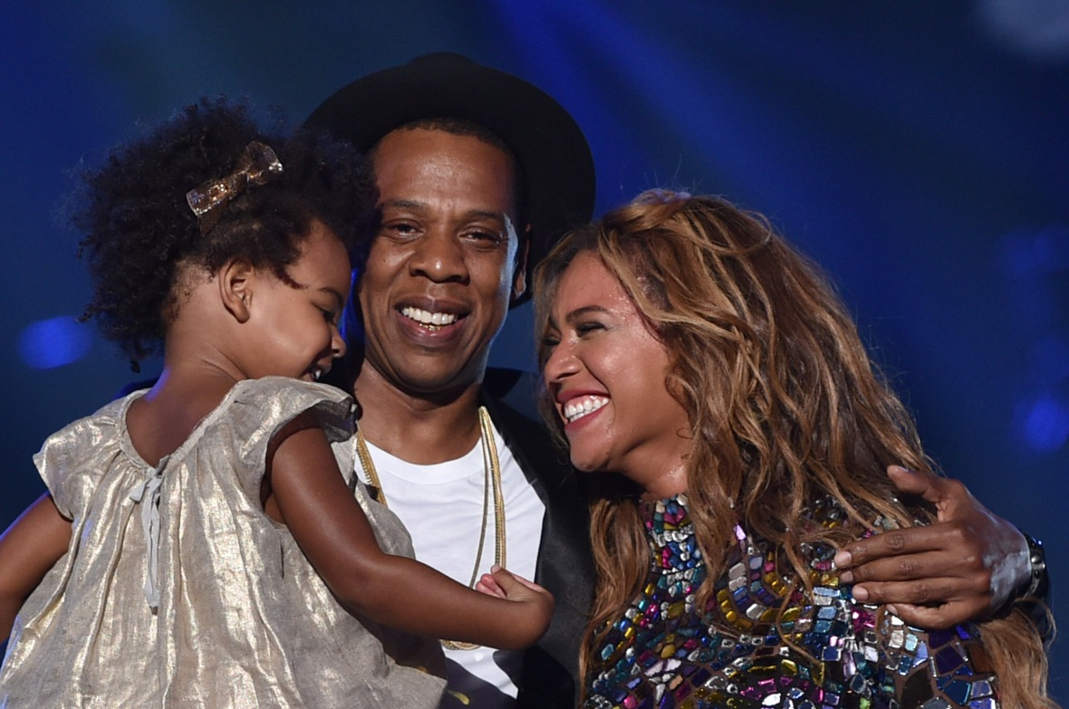 blue ivy beyonce jay z getty images
