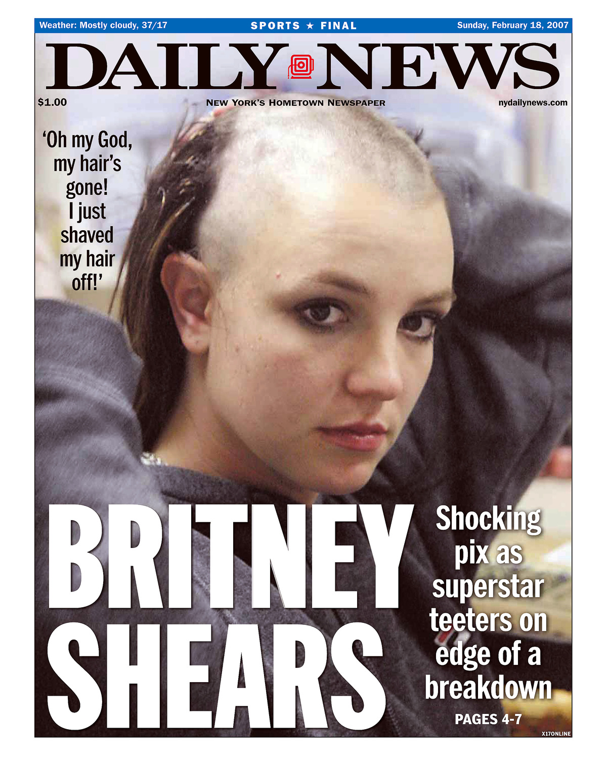 Britney Spears 2007 A Timeline Of Her Infamous Breakdown