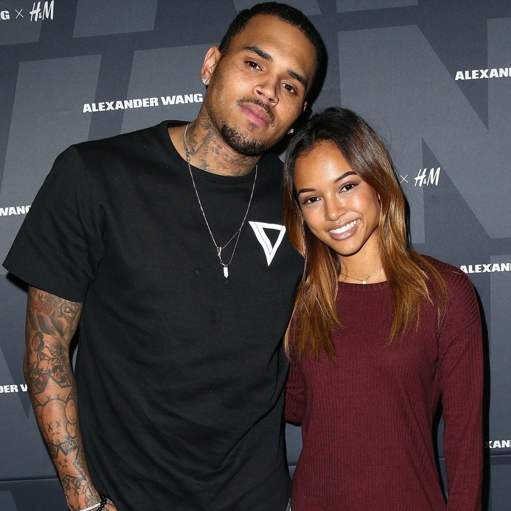 chris brown ex karrueche