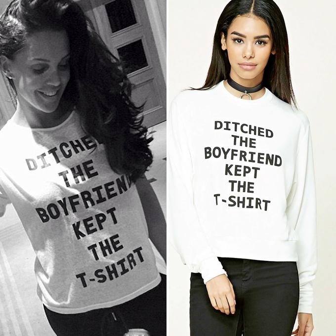 danielle lloyd ditched the boyfriend shirt