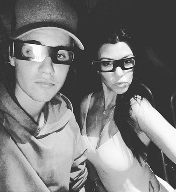 Kourtney Kardashian and Justin Bieber Spotted on Church Date