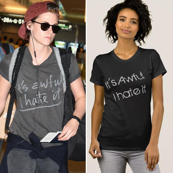 kristin stewart awful hate it shirt