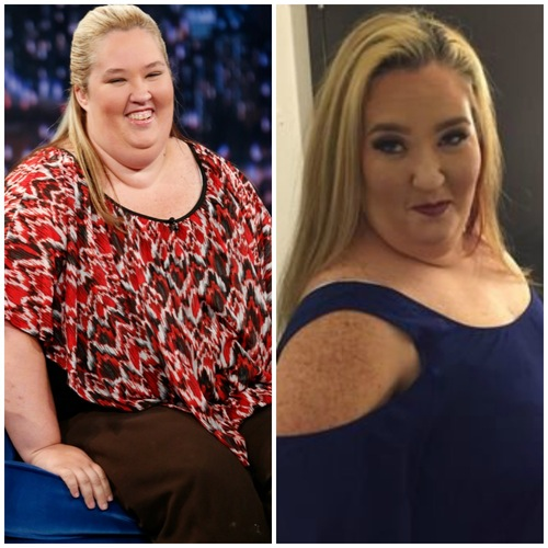 mama june weight loss getty images/twitter