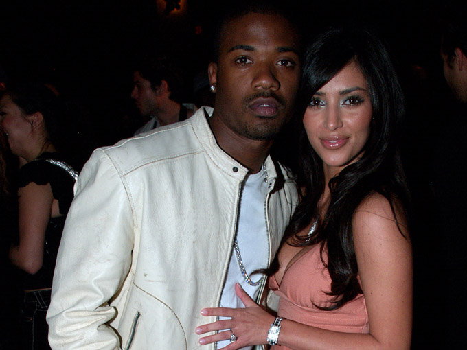 ray j kim kardashian getty images