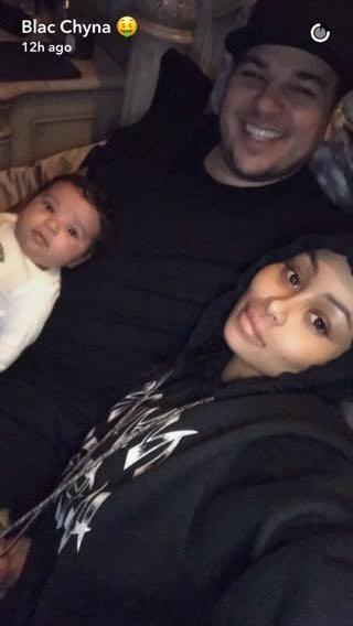 blac chyna family pic