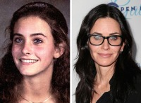 courteney-cox-yearbook-then-and-now