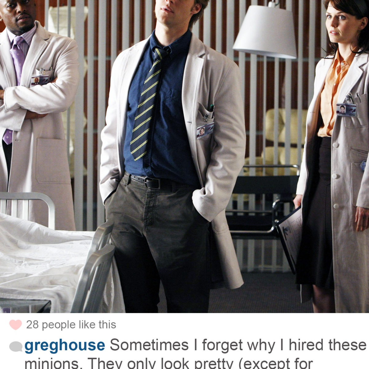 Hilarious Posts Dr  House Would Share on Instagram