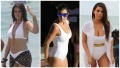 khloe-kourtney-kim-white-swimsuits