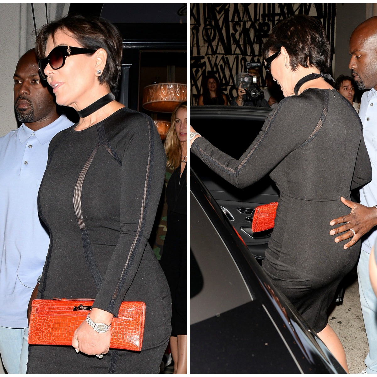 Old Mature Ass here's proof that kris jenner has the biggest booty in the