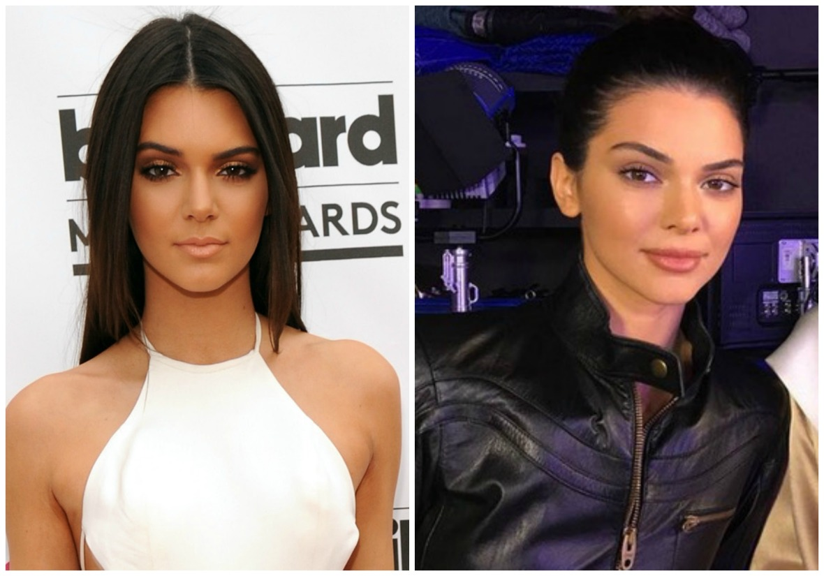 kendall jenner before and after