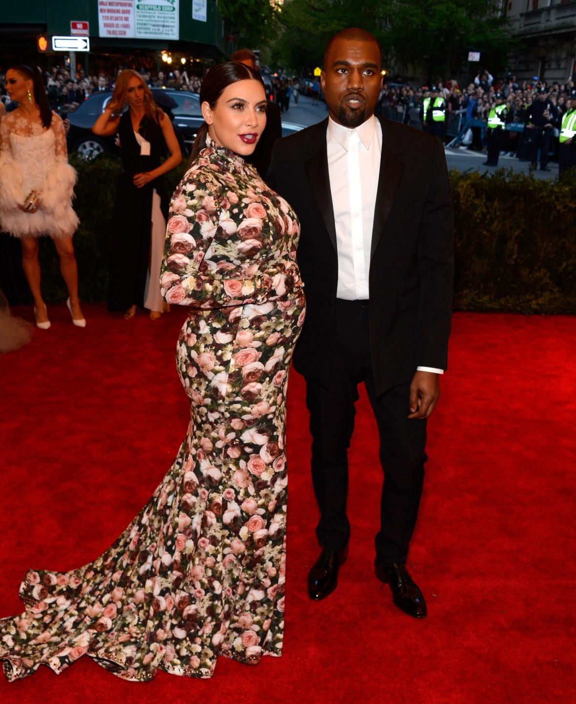 kim kardashian met gala 2013 getty