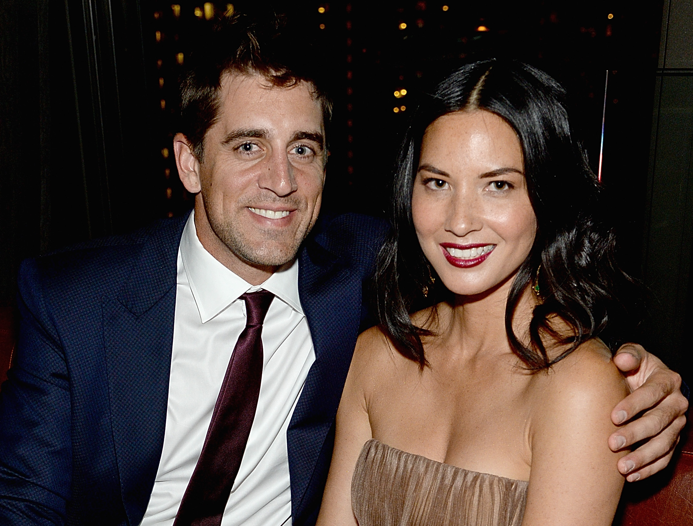 Aaron rodgers is dating olivia munn