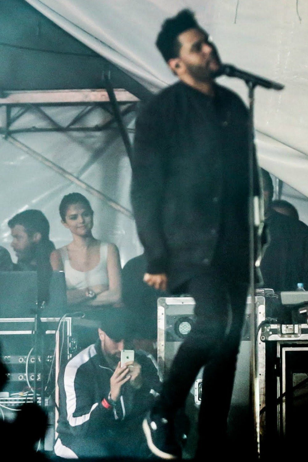 the weeknd selena gomez splash