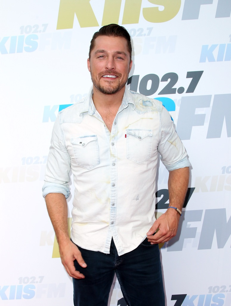 Bachelor Chris Soules Smiles in Button Down Shirt