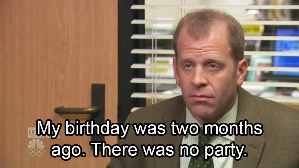 Toby Flenderson Quotes From The Office About Having The Worst Day