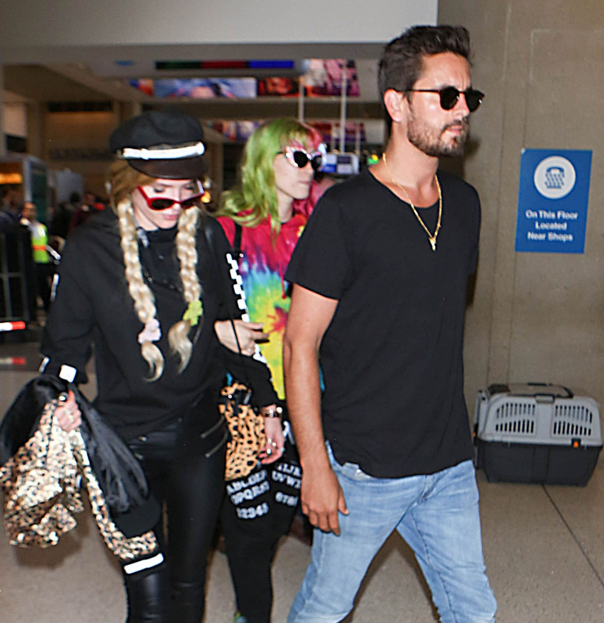 bella thorne and scott disick getty