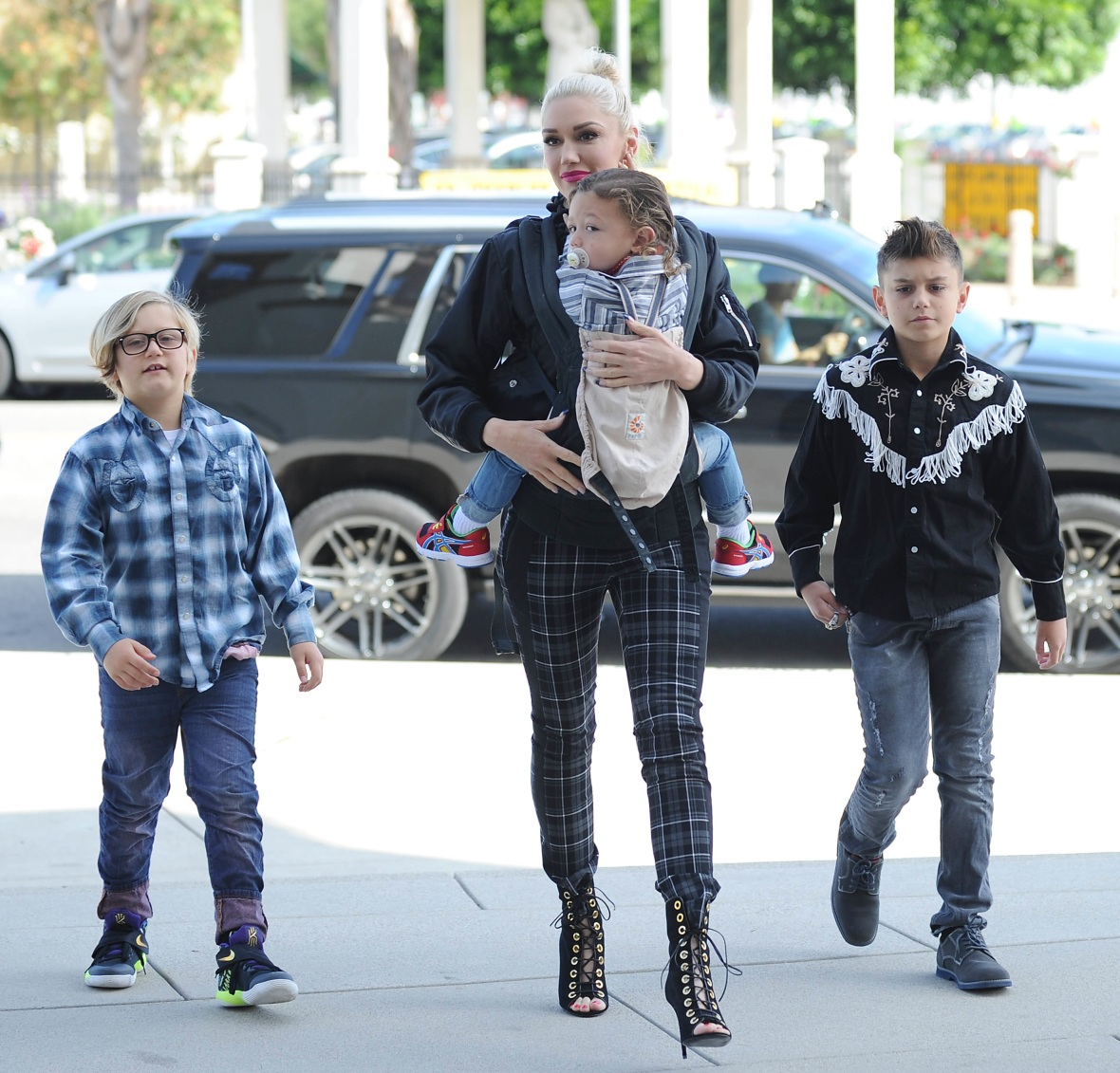 gwen stefani kids splash
