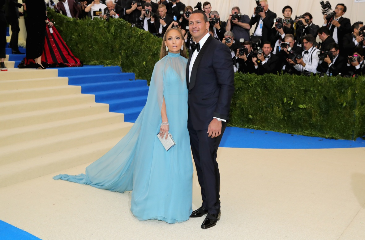 jennifer lopez a-rod getty