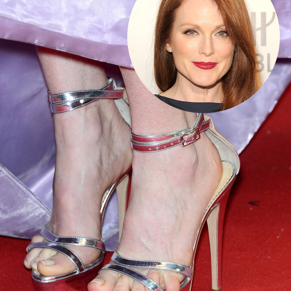 f7d97fc5b4 Amal Clooney Sports Painful-Looking Bunions — Plus More Stars With  Seriously Weird Feet - Life & Style