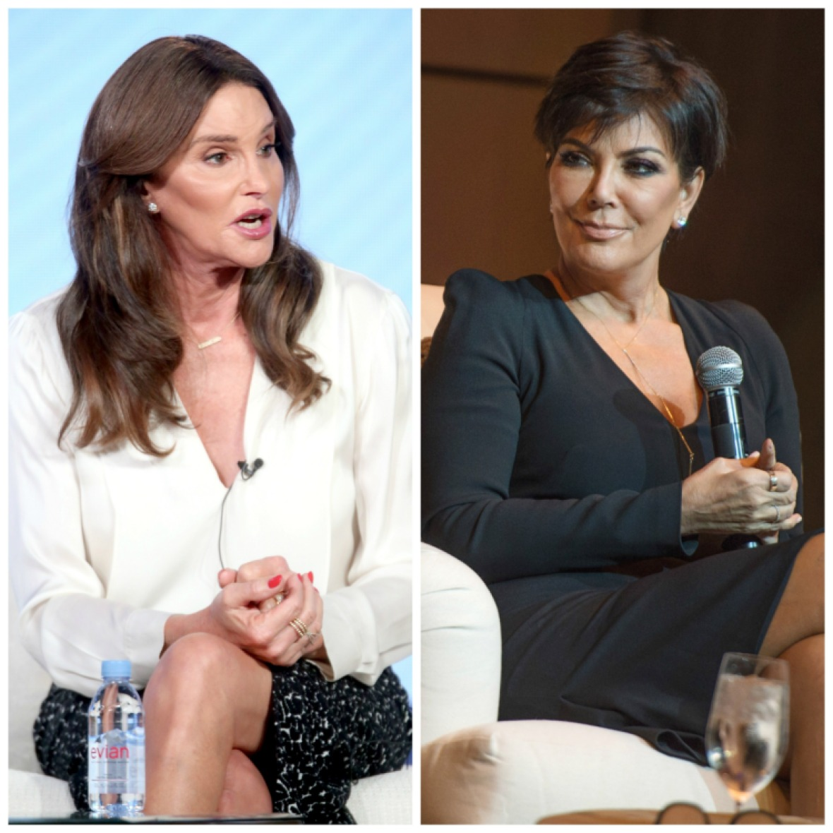 kris and caitlyn jenner getty images