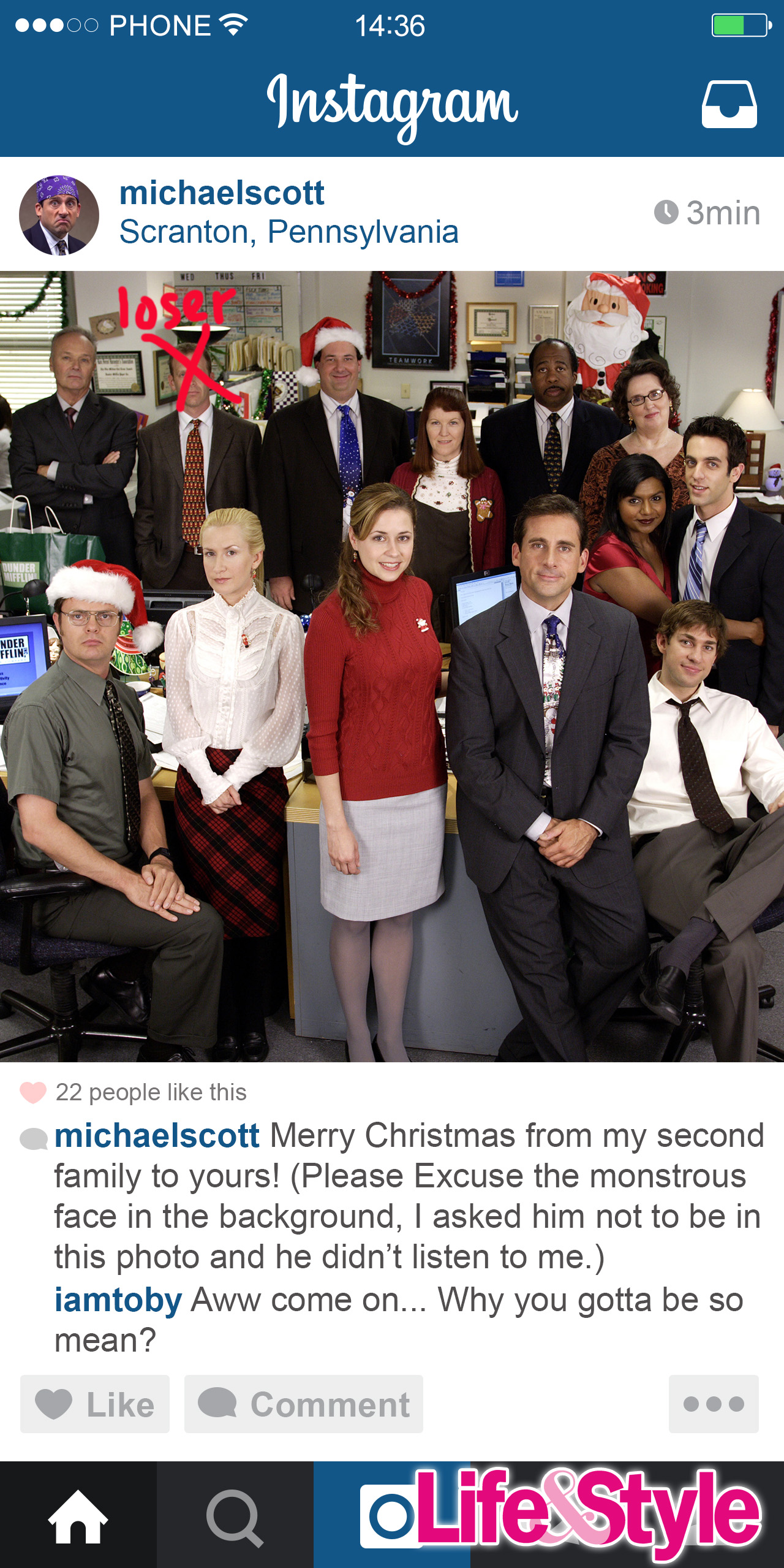 See What Michael Scott From The Office Would Share on Instagram